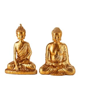 D co maison statuettes femme homme zen couple bouddha for Decoration maison homme
