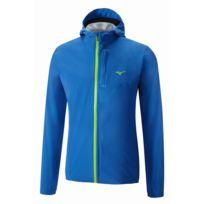 Mizuno - Waterproof 20K Jacket Bleu Veste running etanche