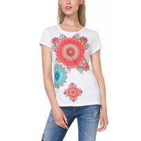 Desigual - Tee-Shirt Mary Blanc 73T2EA9 sp