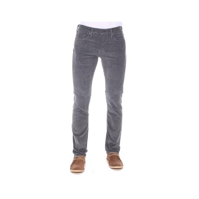 b46eb273d7812 Levi s - Pantalon 511 Slim Fit Eiffel Tower Pigment Cord en velours gris - pas  cher Achat   Vente Pantalon homme - RueDuCommerce