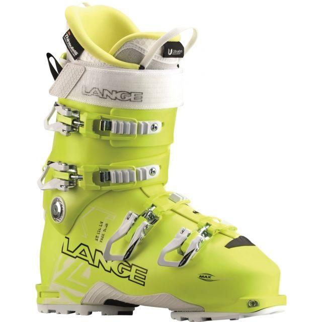 Lange - Chaussures De Ski Xt 110 Lv Freetour W Jaune