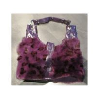 1eeedae013 Universel - Sac a main leopard violet moumoutte pin up retro drole