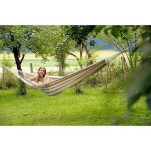 amazonas hamac suspendu 2 places coton 230x150cm barbados pas cher achat vente hamac. Black Bedroom Furniture Sets. Home Design Ideas
