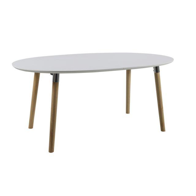HELLIN Table de salle à manger extensible SVEN