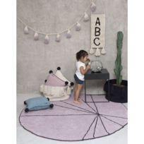 tapis rond diametre 100 cm achat tapis rond diametre 100 cm pas cher rue du commerce. Black Bedroom Furniture Sets. Home Design Ideas