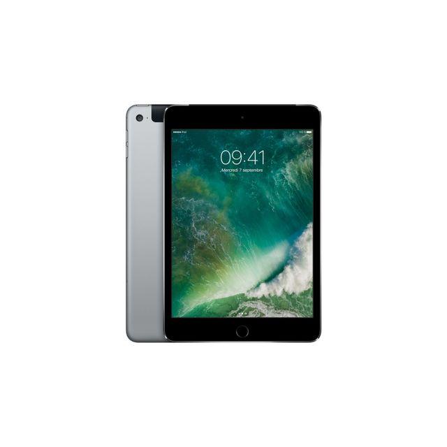 APPLE iPad mini 4 - MK762NF/A - Wifi + Cellular - Gris Sidéral