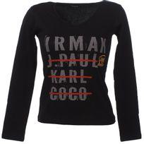 Irmak - Tee shirt manches longues J.p. karl noir Noir 74001