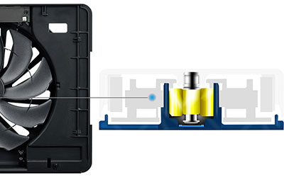 cooler master ergonomique ergostand iii support ventil pour ordinateur portable 17 3 pas. Black Bedroom Furniture Sets. Home Design Ideas