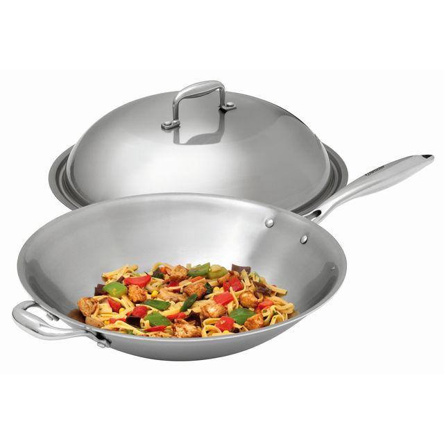 Bartscher Sauteuse Wok assortie au wok a induction Iw35 Pro