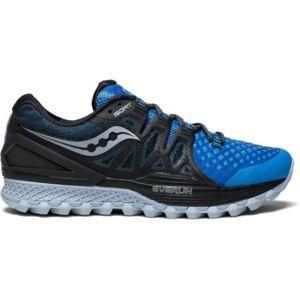 Saucony - Progrid Xodus Iso 2 Bleue Et Noire Chaussures de trail