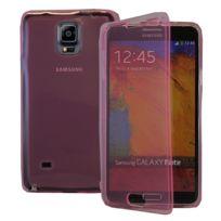 Vcomp - Housse Etui Coque silicone gel Portefeuille Livre rabat pour Samsung Galaxy Note 4 Sm-n910F/ Note 4 Duos Dual Sim, N9100/ Note 4 CDMA, / N910C N910W8 N910V N910A N910T N910M - Rose