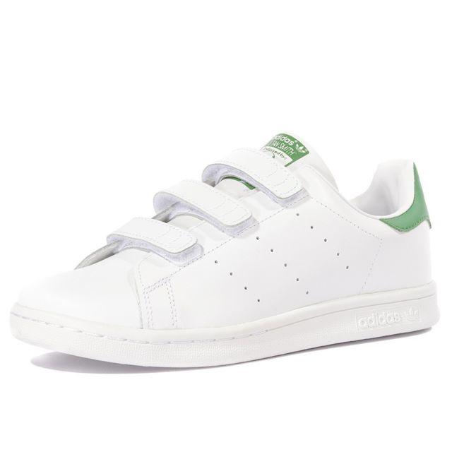 adidas chaussure blanche et verte