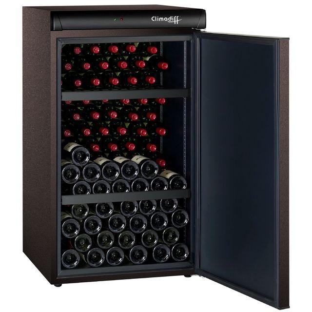climadiff cave vin de vieillissement clv122m pas cher achat vente cave vin rueducommerce. Black Bedroom Furniture Sets. Home Design Ideas