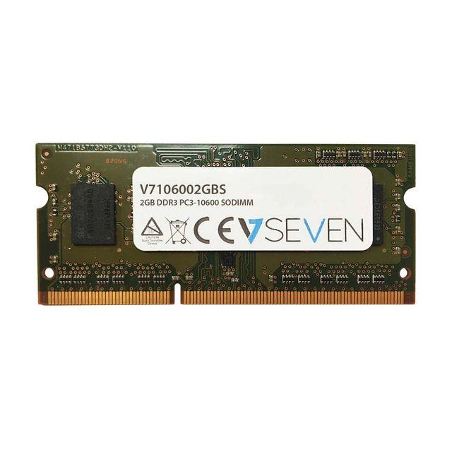 V7 Ddr3 2Gb 1333MHz Pc3-10600 1.5V Sodimm V7106002GBS V7 Ddr3 2Gb 1333MHz Pc3-10600 1.5V Sodimm (V7106002GBS)