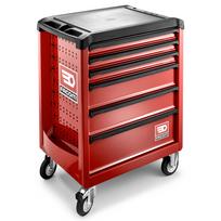Facom - Servante Roll6 6 tiroirs. Nouvelle génération. Roll.6M3PB rouge
