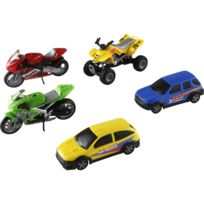 John World - 5 véhicules de courses racing version 1