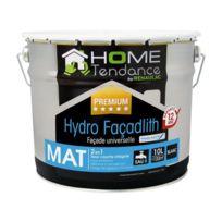 Home Tendance - peinture façade universelle Hydro Façadlith hydropliolite 10 L blanc mat