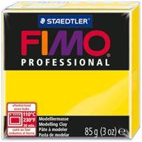 Fimo - PÂTE Professional 8004.1 - 85 G - Jaune Citron - Ef8004-1