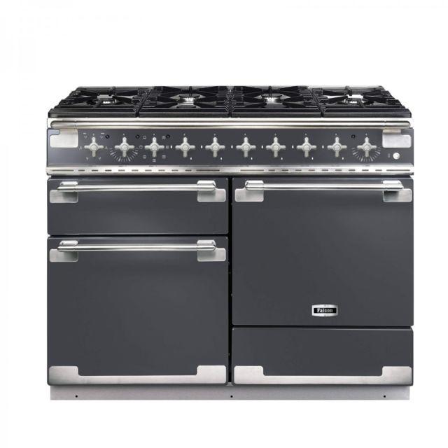Falcon - Cuisiniere Mixte Elis 110CM Els110DFSLE 6GAZ 2FOURS Mf Elec Gris Ard
