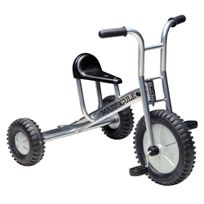 Majuscule - tricycle grand modèle 4/8 ans silver