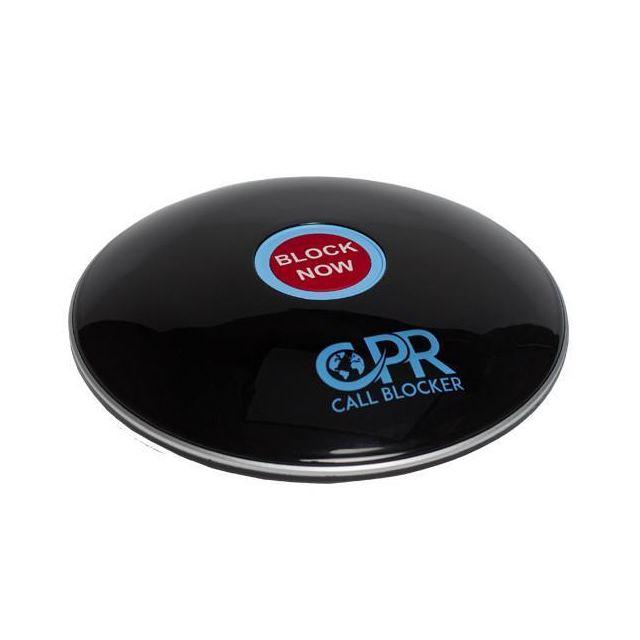 Cpr Call Blocker - Bloqueur d'appels Shield Noir Gloss