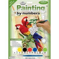 Royal & Langnickel - Pjs38 Peinture D'APRÈS Les Chiffres Taille A4 Perroquets Dans Les Bambous