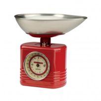 Typhoon - Balance mécanique vintage rouge