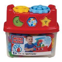 Mega Bloks - 590 - Jeux de construction 32 pieces - Spin'n Sorter