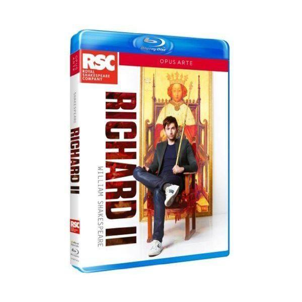 Opus - Shakespeare : Richard Ii. Tennant, Davies, Doran. Blu-ray