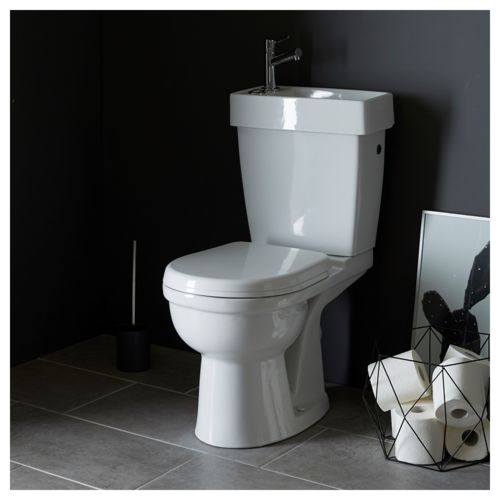 Planetebain pack wc avec lave mains int gr gain de for Wc gain de place villeroy et boch