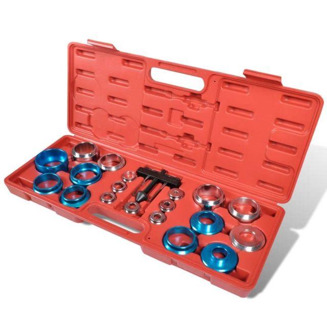 vidaXL Coffret dAdaptateurs Extracteur de Joint /à Rotule 21 pcs Voiture