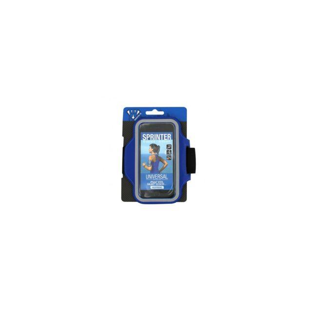 Wantalis - Sprinter - Brassard Néoprène Universel Dark Blue - Iphone 6/7