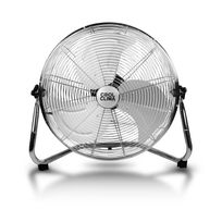 Cool Clima - Ventilateur Chrome 45Cm - 100W