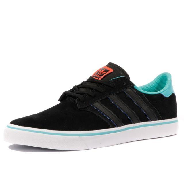 e04ae5b5df604d Adidas - Seely Premiere Homme Chaussures Noir Bleu Noir 44 - pas cher Achat  / Vente Baskets homme - RueDuCommerce