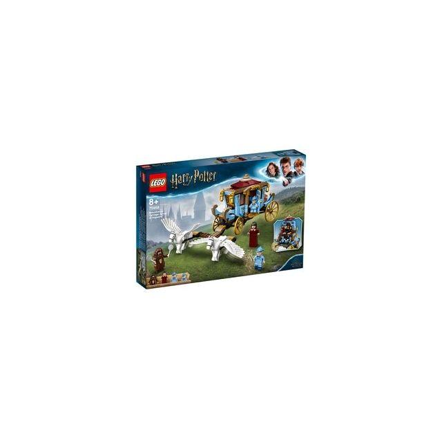 Lego 75958 - ® Harry Potter Le carrosse de Beauxbâtons l'arrivée à Poudlard
