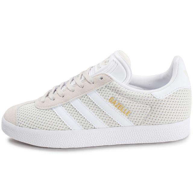 chaussure adidas gazelle grise femme