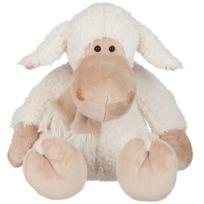 Jolipa - Mouton en peluche avec son bonnet 30 cm