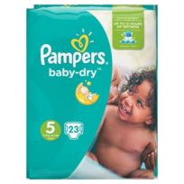 Pampers - Baby-Dry Taille 5 11-23 kg x23 couches