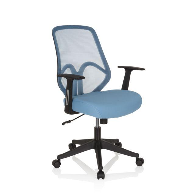 Hjh Office Chaise de bureau siège pivotant Amiko maille
