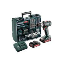 Perceuse à percussion SB 18 L SET - 2 batteries 18V 2.0Ah, chargeur avec set d'accessoires - 602317870