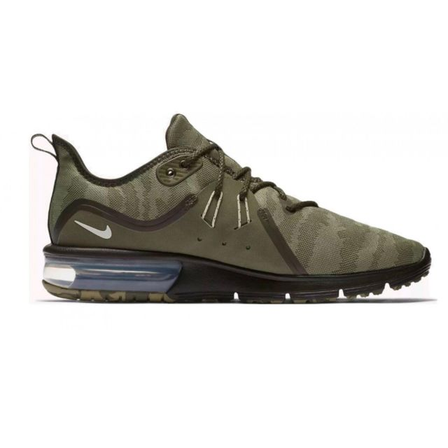 57245c2673b Nike - Basket Air Max Sequent 3 - Ar0251-201 Vert - pas cher Achat   Vente  Baskets homme - RueDuCommerce
