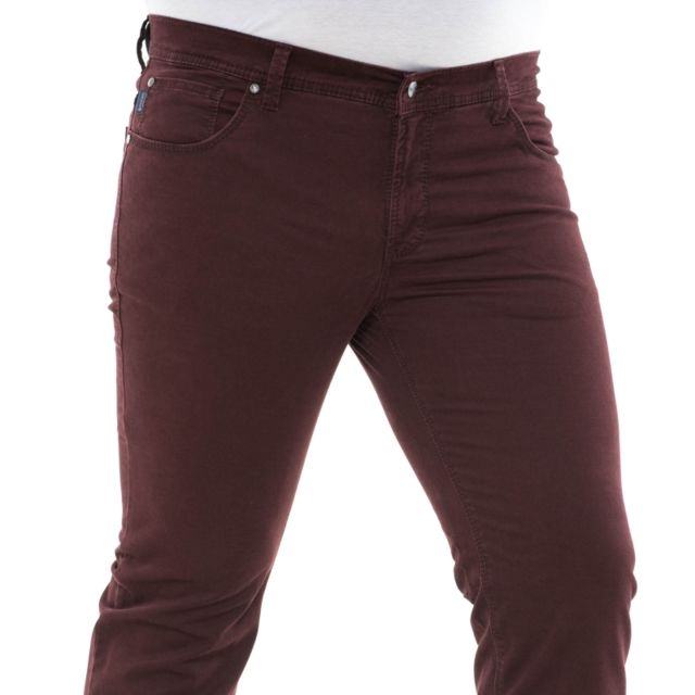 Pionier Pantalon toile thomas bordeaux