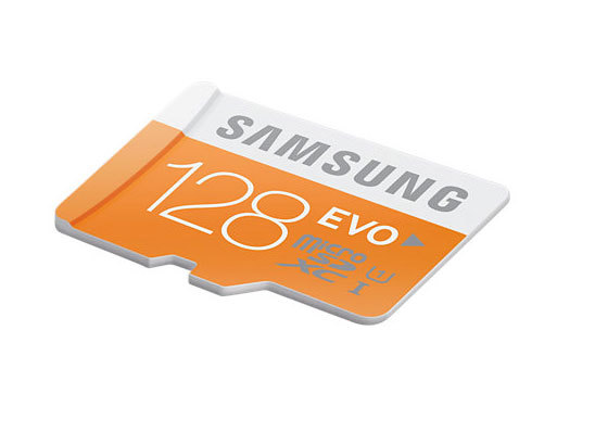 Carte Micro SDXC EVO 128 Go Samsung