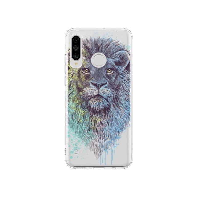 coque huawei lion