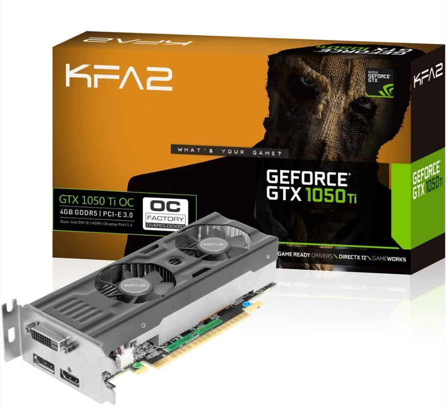 GeForce GTX 1050 Ti OC LP 4GB