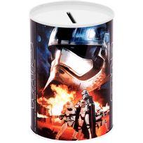 Disney - Tirelire Métal Licence Décor Stars Wars Star Troppers Flamme