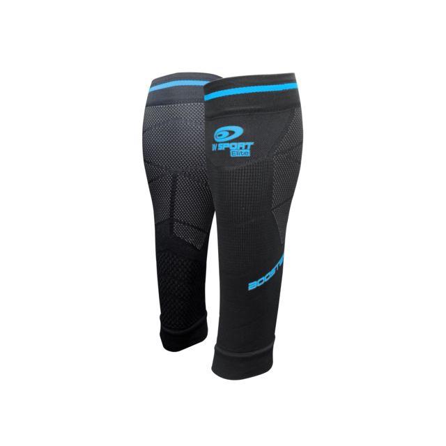 Bv Sport Booster Elite Evo2 Noir Et Bleu Manchons de compression