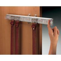 Servetto - Porte-ceinture Coulissant - Finition:Alu/translucide - Prof. mm:480