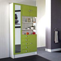 colonne salle bain vert - Achat colonne salle bain vert pas cher ...