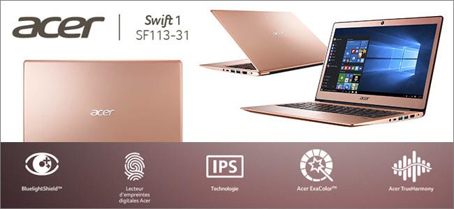 Aspire Swift 1 - Rose